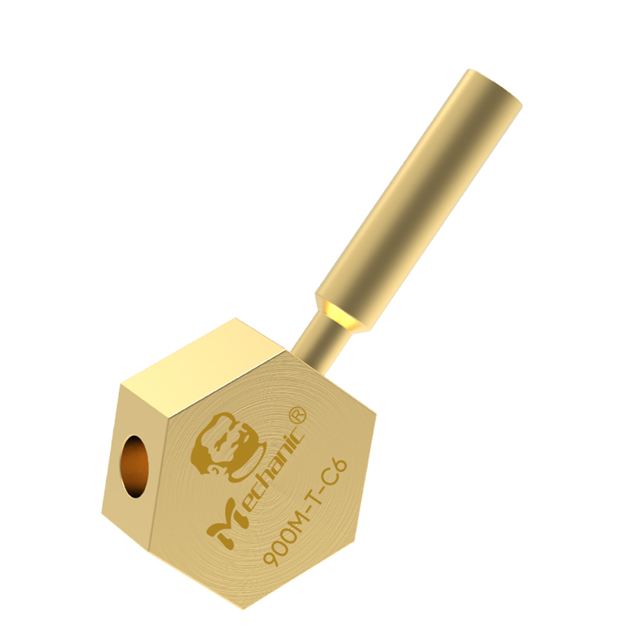 Mechanic 900M-T-C6 Honeycomb Micro-soldering Station BGA PCB Soldering Tip Heating Repair for T12 JBC-210/245 Soldering Station 1