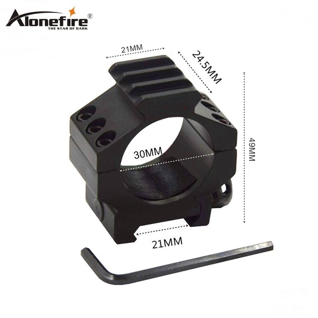 Alonefire MD3013 30mm Ring 21MM Rail Weaver Picatinny Airsoft Rifle Shot gun Tactical lights Laser Sight Scope Hunting Mounts