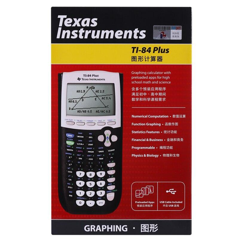 New Instruments <font><b>Plus</b></font> <font><b>Graphing</b></font> Fashion Battery Led <font><b>Calculator</b></font>