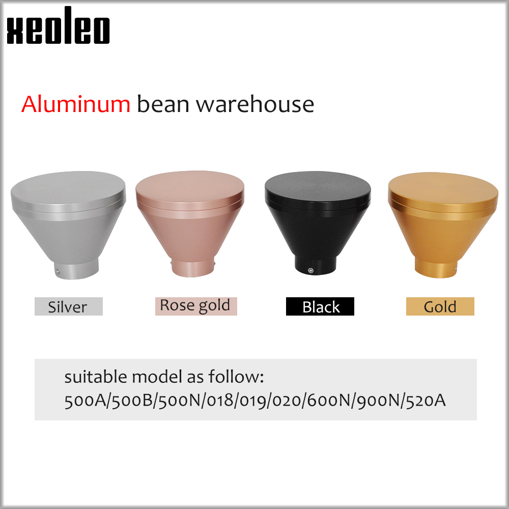 Xeoleo Coffee Grinder Hopper Aluminum Coffee Hopper Suitable For Different Grind Machine