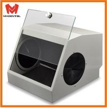 Стоматологическая шлифовальная Полировочная коробка, защита от пескоструйной обработки, Пыленепроницаемый Чехол, светодиодный светильник