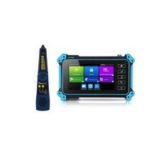 Le plus nouveau 5 pouces IP HD CCTV caméra testeur moniteur AHD CVBS CVI TVI SDI 8MP caméra testeur HDMI VGA entrée WIFI POE PTZ