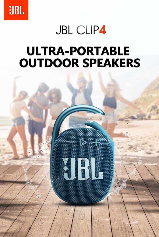 Haut parleurs Bluetooth sans fil JBL CLIP 4, Portable, étanche, 100%  d'origine | AliExpress