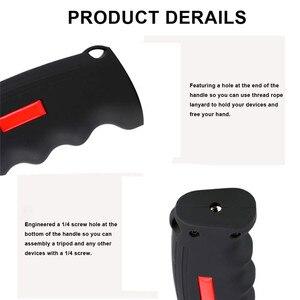 Image 5 - ใหม่กล้องปืนพก Grip Universal Handle ผู้ถือ Grip Selfie Stick สำหรับกล้อง GoPro โทรศัพท์สมาร์ท
