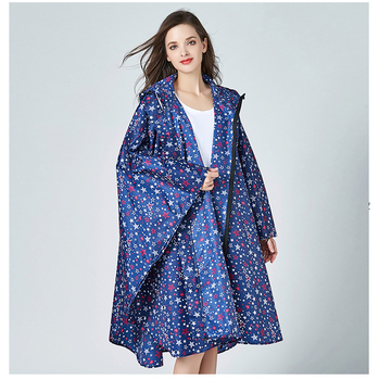 Fashion Cloak Raincoat Thin  windbreaker women Section Large Size Poncho Waterproof Rain Poncho Free Size Raincoat BB50YY