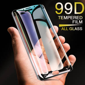 Protective Tempered-Screen-Protector Curved-Glass Samsung A5 for A7 A3 A8 S7 on S6