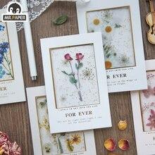 Bronzing Greeting-Cards Invitations Eternal-Series Mr.paper with Envelopes Handmade DIY