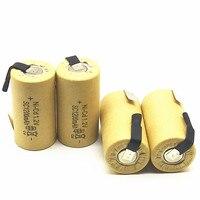 Высококачественная аккумуляторная батарея, sub батарея SC Ni-Cd аккумулятор 1,2 в с таб 1200 мАч для электрического инструмента