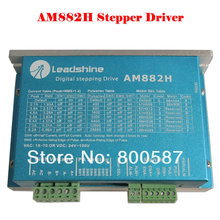 цена на AM882H stepper motor for CNC Router Parts Leadshine AM882 Stepper Drive Stepping Motor 80V 8.2A with Sensorless Detection