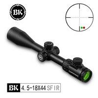 Bobcat King 4.5 18X44 SFIR Riflescopes Airsoft Hunting Scope Traffic Light Illumination Sniper Air Gun Tactical Optical Sight