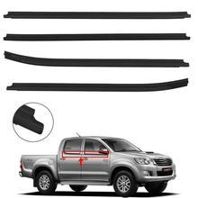 For Toyota Hilux Pickup 2005-2015 KUN26 KUN36 GGN25 TGN16 Belt Weatherstrip Weather Strip Seal Outside Window Protector 4-door brake master cylinder for hilux kun16 kun26 ggn15 ggn25 tgn16 47201 0k020a