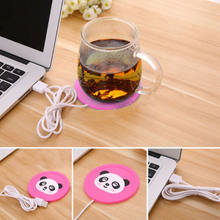 Household Useful USB Insulation Coaster Heater Heat Insulation electric multifunction Coffee Cup Mug Mat Pad Home Accessories(China)