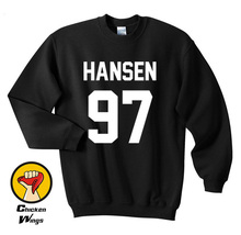 Hansen sweatshirt Hansen Merch Print for Women Girls Men Crewneck Sweatshirt Unisex More Colors XS - 2XL олимпийка helly hansen helly hansen he012ewelrb8