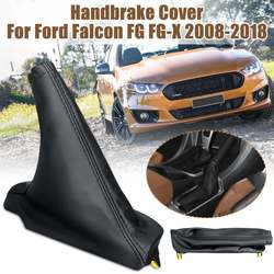Hand Brake Boot Grips Handbrake Cover PU Leather Gear Shift Knob Lever Cover For Ford Falcon FG FG-X XR6 XR8 Sprint 2008-2018