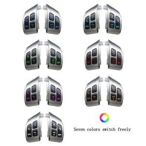 Image 4 - نمط جديد لسوزوكي سويفت 2005 2016 ل SX4 2006 2013 كومبيناتيو التبديل متعددة الوظائف عجلة القيادة زر التبديل الصوت