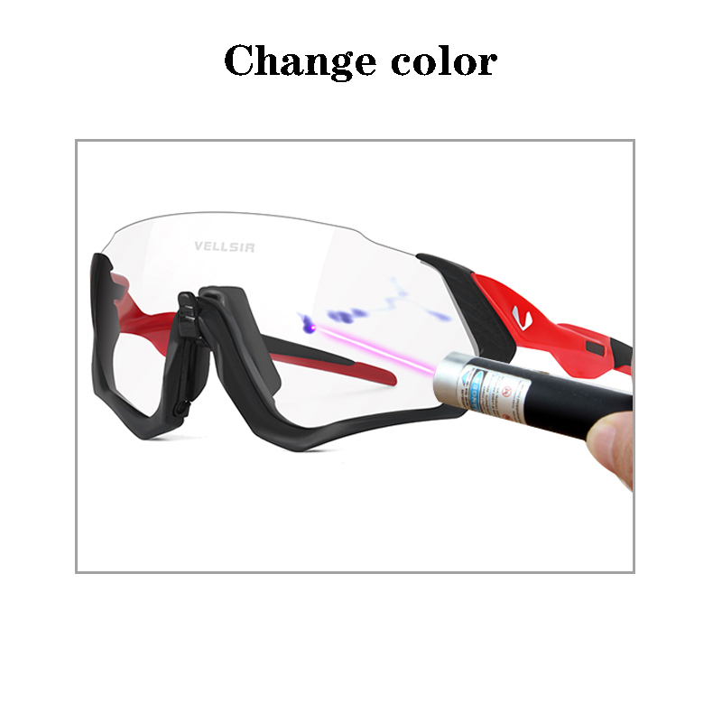 Bicycle Flight Photochromic Sunglasses Base Outdoor Sports bicicleta Gafas Mountain Bike Goggles Cycling Glasses UV 400 Eyewear|Cycling Eyewear| |  - title=