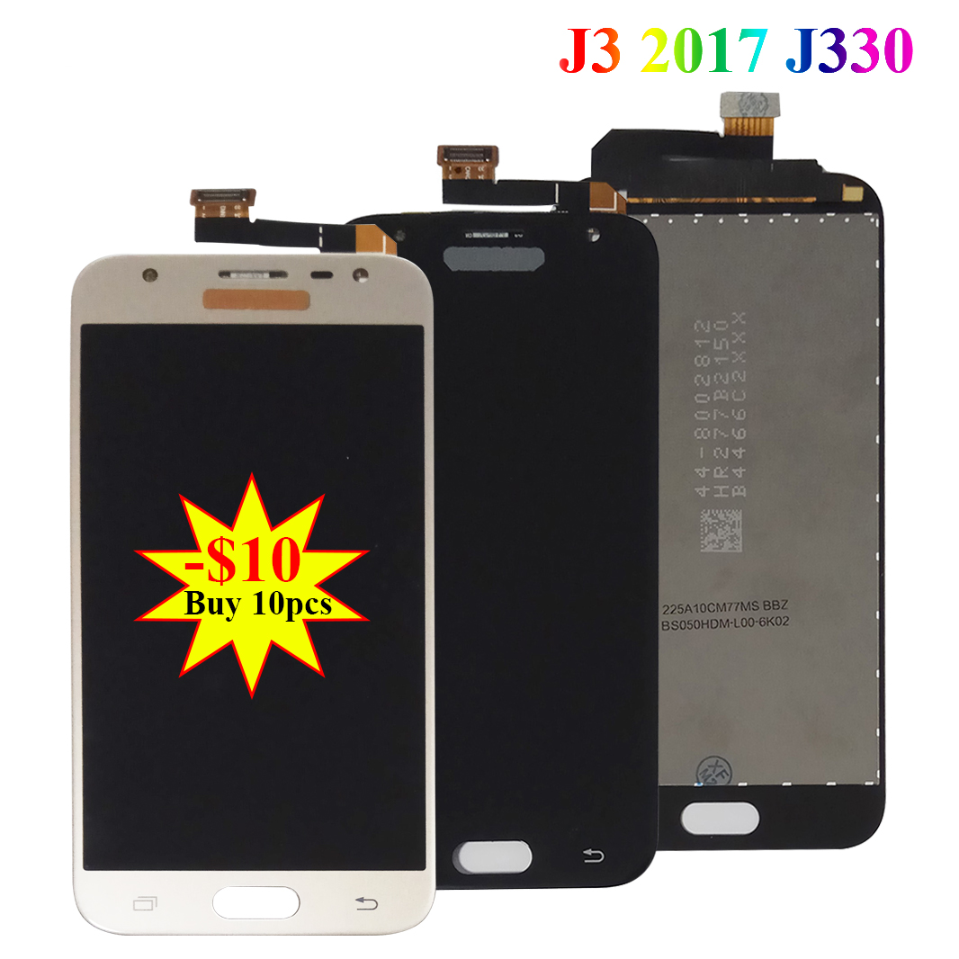 Original LCD Display for <font><b>SAMSUNG</b></font> Galaxy J3 2017 J330 LCD Touch Digitizer Assembly Replacement J330F <font><b>J330FN</b></font> LCDScreen Panel Parts image