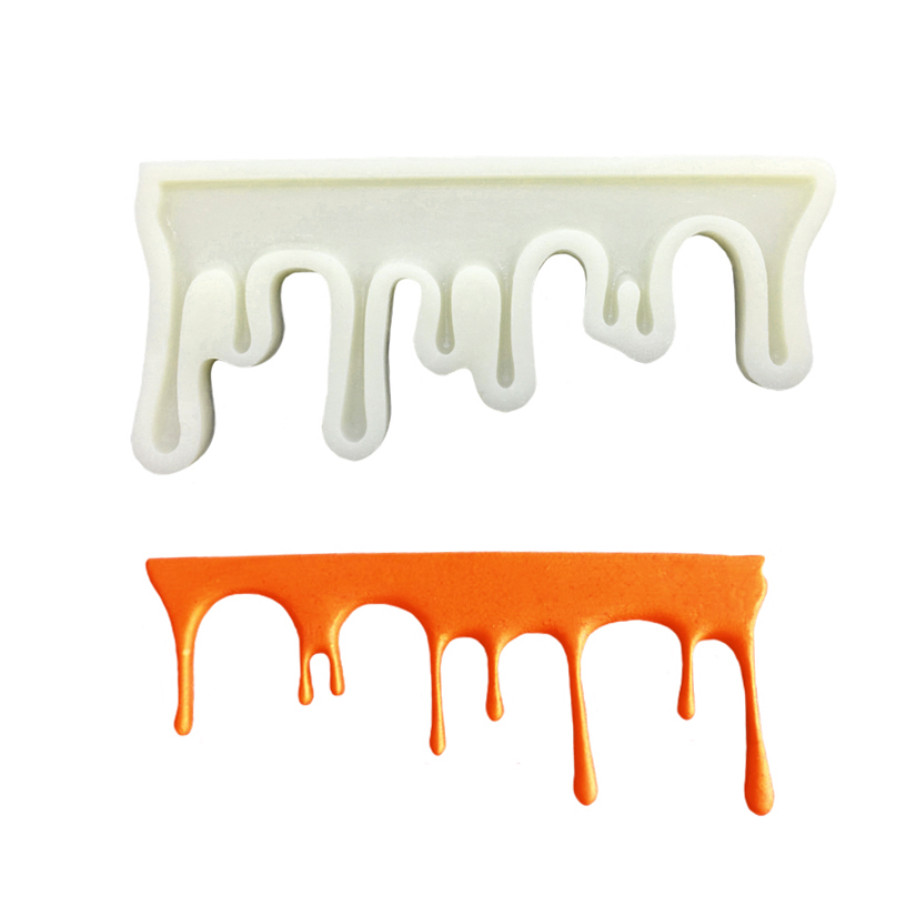 Ferramentas de decoração de bolo de chocolate molde de silicone