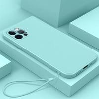 Funda líquida oficial Original para iPhone 13 Pro, funda completa para apple iPhone 13 mini pro