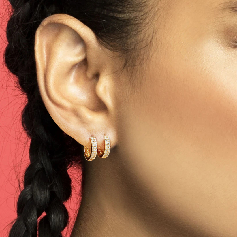 Best Offers For Gold Huggie Earrings Small Brands And Get Free Shipping A618