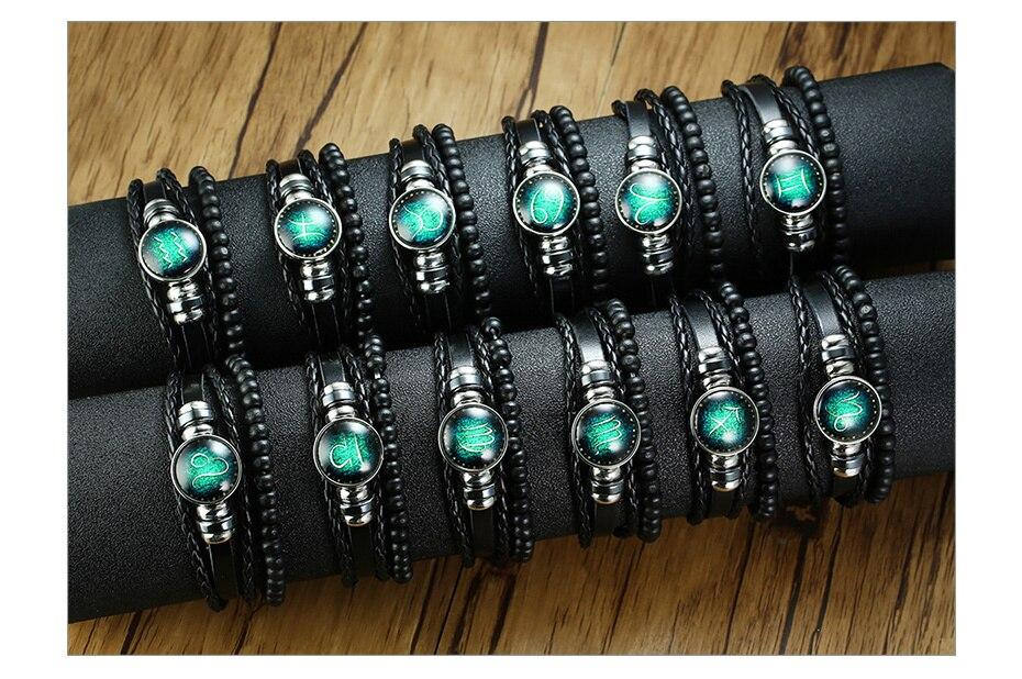 H96395023d4d8446a9b34532a9c5ddeb4L - Zodiac Fashion Bracelet