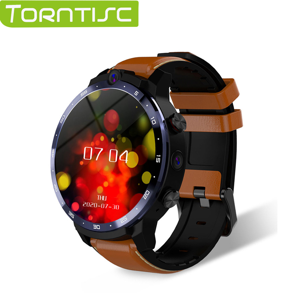 Smart-Watch GPS Custom-Face Dual-Cameras WIFI Lem12 Pro Android-10 Torntisc 4G for 400--400-Resolution