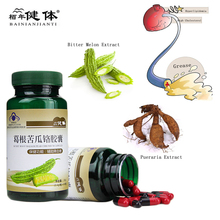 Pueraria lobata Momordica charantia Extract Lower Blood Pressure,Health Care ProductsFor The Elderly недорого