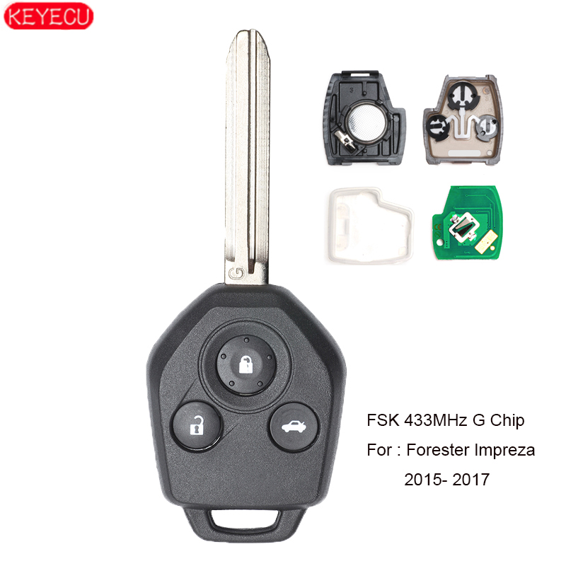Discount Keyless Remote Control Replacement Uncut Car Key Fob For Subara Impreza NHVWB1U711