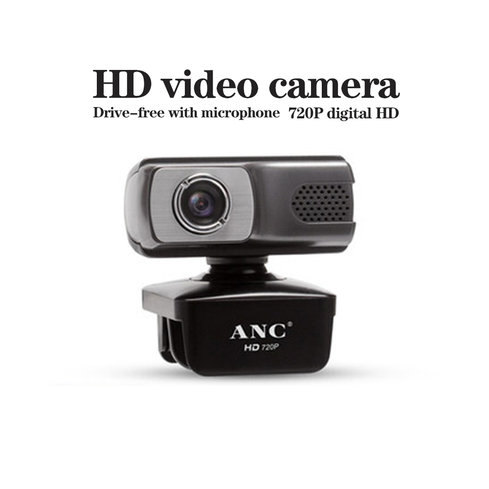 Aoni ANC Webcam 720P, HDWeb Camera with Built-in HD Microphone USB Plug n Play Web Cam Widescreen Video web camera For computer 1