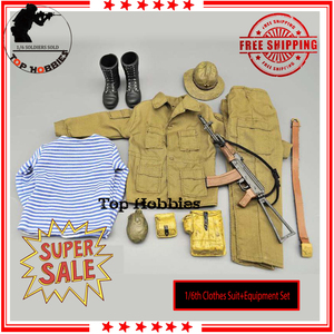 Image 1 - 1/6 scale Action FigureSpecial Forces Clothes Uniform equipment suit w AK74/AK47 for the Soviet Afghanistan Fit 12 Inch figurine