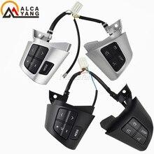 Interruptores de volante de alta qualidade, botões para toyota corolla/wish/rav4/altis oe