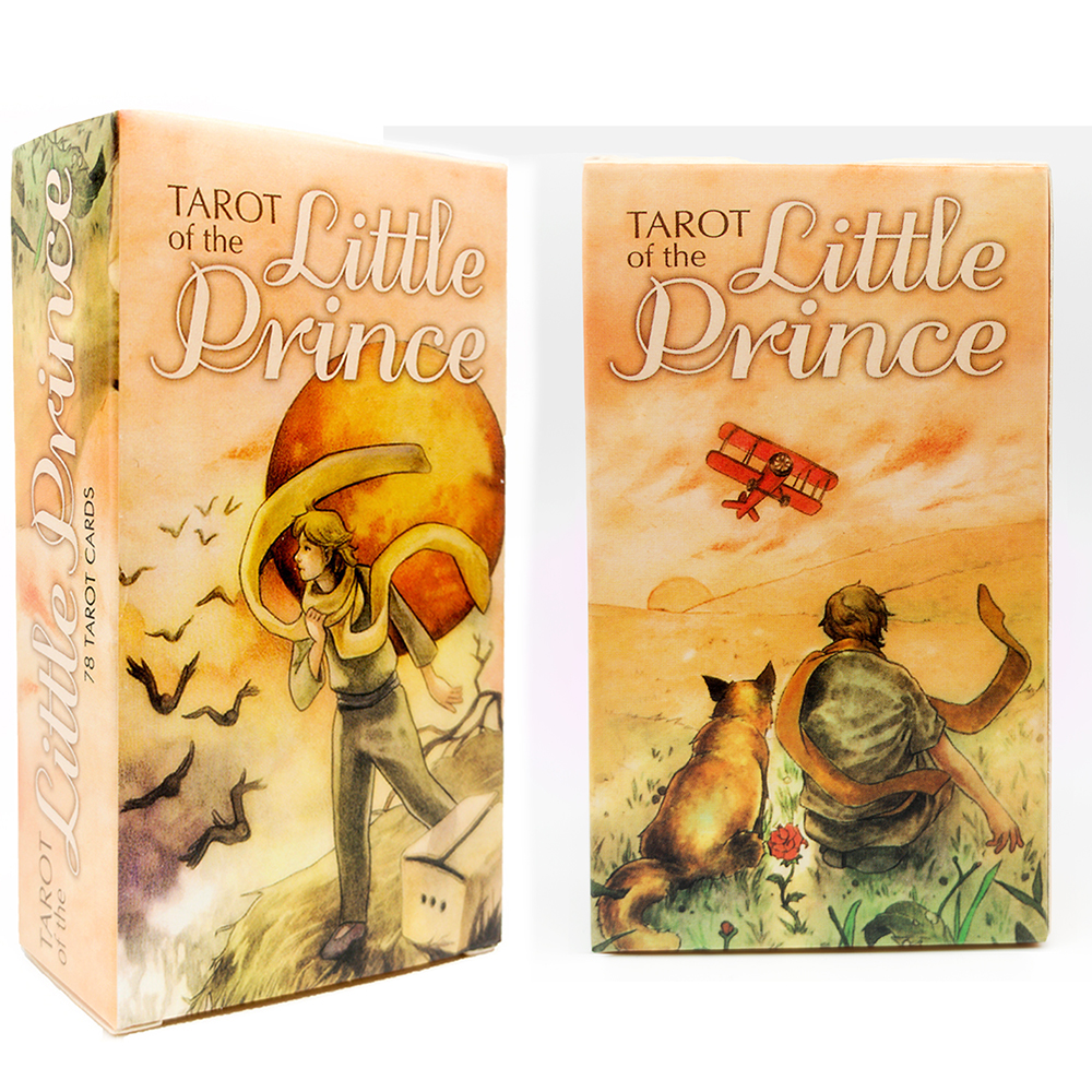 Tarot Of The Little Prince Cards Deck A 78 Card Deck And Instructional Booklet Divination Reading Love Moon Near Me Beginners