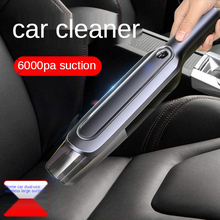Wireless Portable Car Vacuum Cleaner With Handheld Car Vacuum Cleaner Home Dual-Use 6000pa Strong Suction Mini Vacuum Cleaner