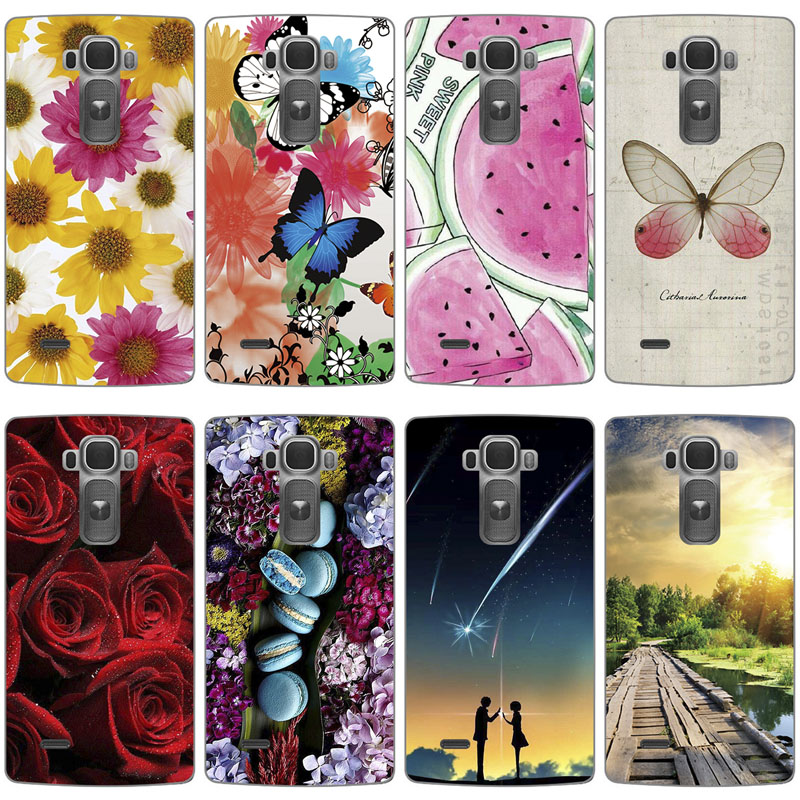 Soft Silicone Case For LG G Flex 2 H955 LS996 H950 Colored Paiting Back Cover Shell For LG Flex 2 Patterned fitted Phone Case