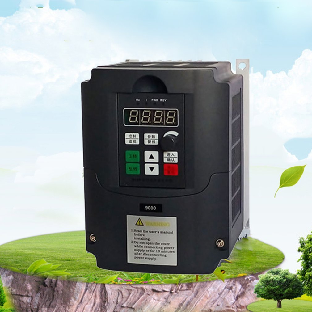 2.2KW 220V Frequency Inverter & Converter 3 Phase Output 650HZ AC Motor Water Pump Controller AC Drives Frequency Converter
