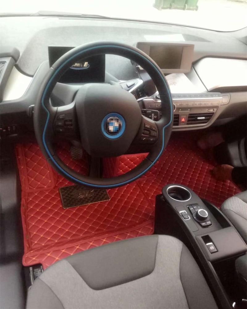 Bmw I3 Electric  Fully Tailored Black Carpet Car Mats
