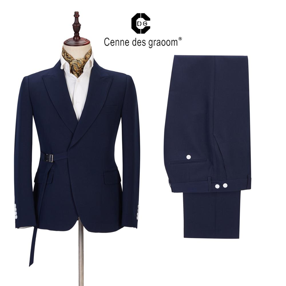 2021 New Men Suits Costume Jackets Blazers Vests Mens Set Tailor-Made For Wedding Business Casual Groom Singer Party Christmas