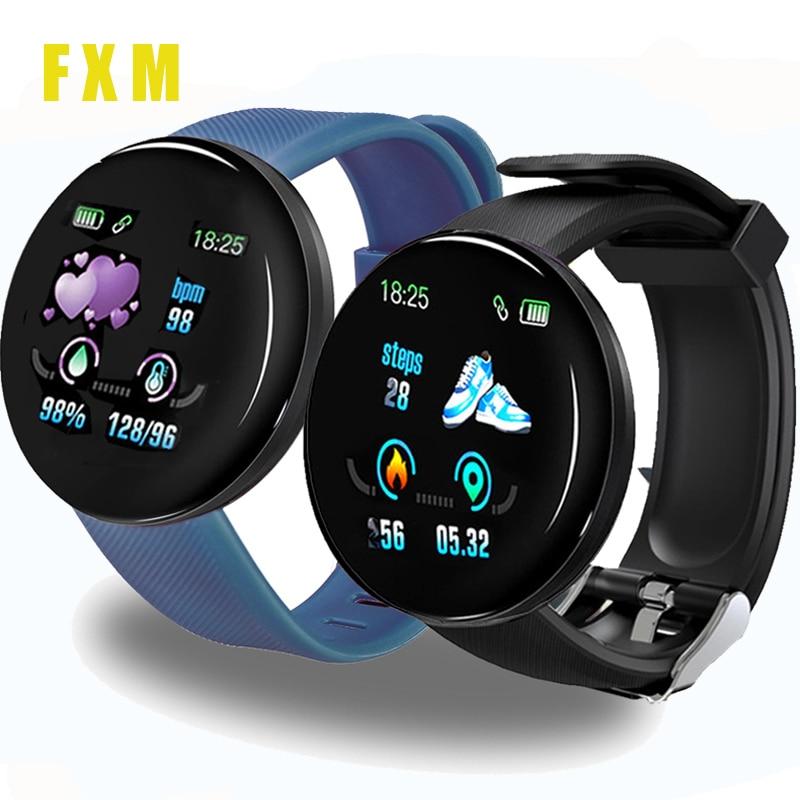 Bluetooth Smart Watch Men Women Blood Pressure Smartwatch Sport Tracker Pedometer 116 Plus Smart Watches For Android IOS + Strap