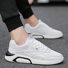 2019 Lente Witte Schoenen Mannen Casual Schoenen Ademend Air Mesh Volwassen Mannelijke Schoenen Merk Ontwerp Paar Lover Schoeisel Mannen Sneakers
