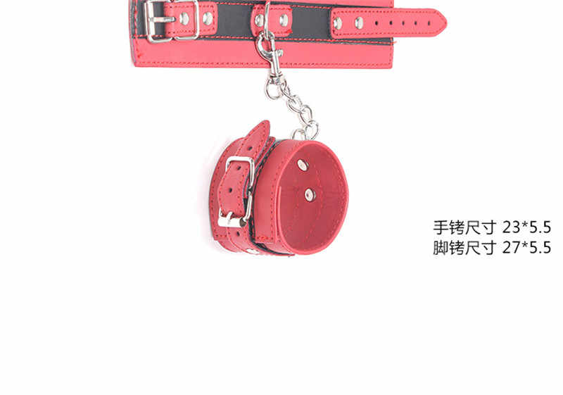 Sex Accessories BDSM Arm Bondage Restraints Belt PU Leather Harness Hand Wrist Cuffs Sex Toys For Female Male Sex Shop