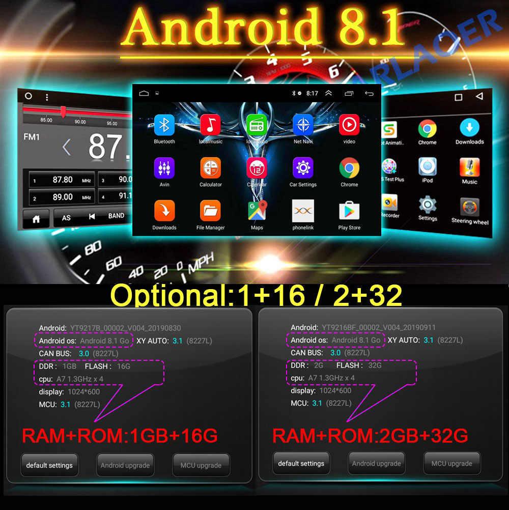 """2DIN Android 8.1 Đa Phương Tiện Video 7 """"Đa Năng 2DIN Stereo Radio Đồng Hồ Định Vị GPS Cho Xe Volkswagen Nissan Hyundai kia TOYOTA"""