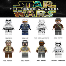 8PCS STAR WARS Luke Leia starwars Darth Vader Maul Sith Malgus Han Solo Jawas  Ewok Yoda Rey Building Blocks Toys For children star wars jedi chewbacca building blocks han solo darth vader legoing figures jango fett obi wan models toys for children bk37
