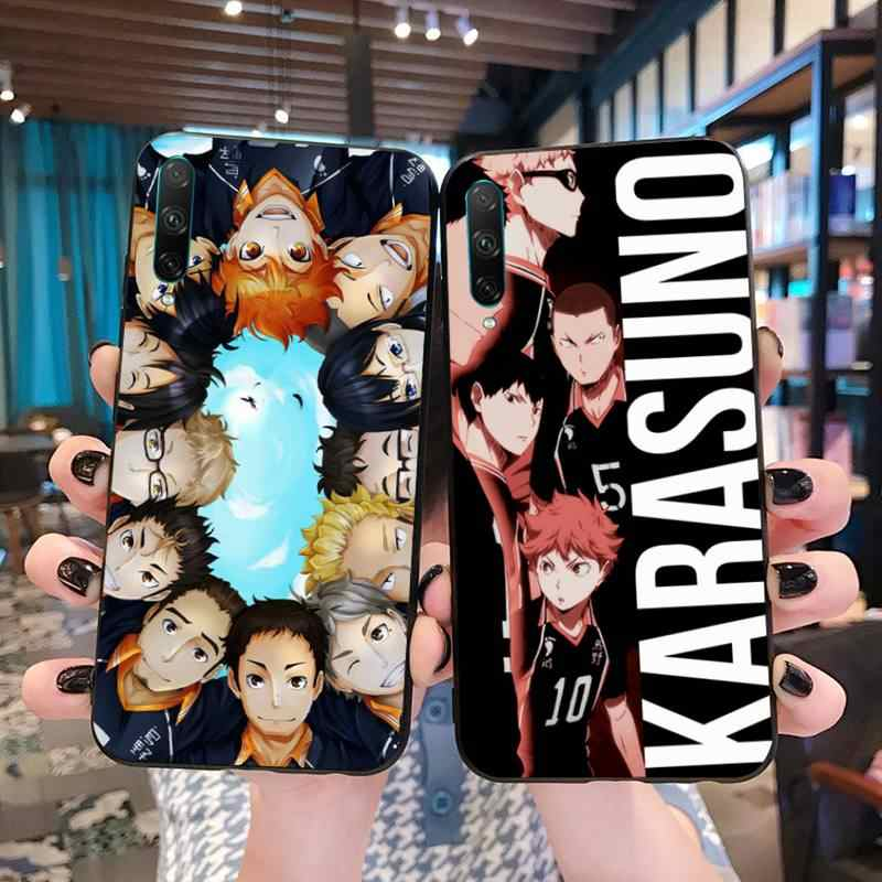 Hot Haikyuu Hinata Anime Volleybal Soft Shell Telefoon Case Capa Voor Huawei P40 P30 P20 Lite Pro Mate 20 Pro P Smart 2019 Prime