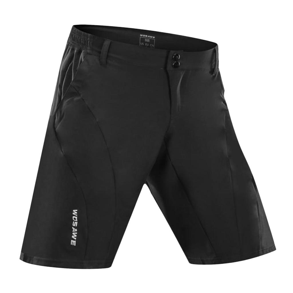 Men's Cycling Zippered Short…