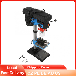 Electric Drill Press Adjustable Height Bench Drill 16mm Drill Chuck High Accurate Wood Metal Drilling Machine