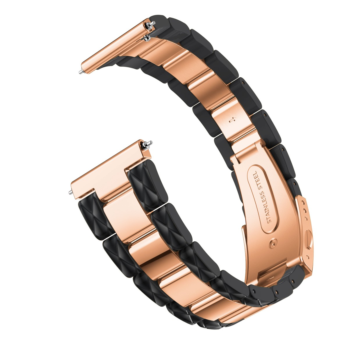 Inoxidável para Garmin Vivoactive 3 Ticwatch