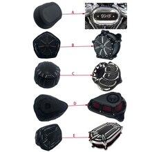 Мотоциклетный черный защитный чехол, воздушный фильтр, тяжелый Воздухопроницаемый носок для Harley Sportster Touring Dyna Softail, наборы для очистки возду...