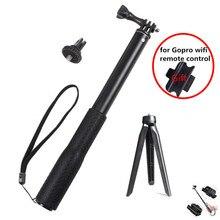 Aluminium gumowe wodoodporne Selfie Stick, wysuwany uchwyt do selfie regulowany statyw do kamerki GoPro hero 7 6 5 4 i YI 4K dla DJI SJ