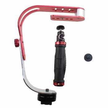 Estabilizador de mano de Metal Universal para Gopro DSLR SLR cámara Digital deporte DV estabilizador de aluminio