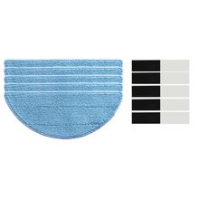 10xMop Cloth+10xmagic paste for chuwi ilife v5s ilife v5 pro ilife x5 V3+ V5 V3 v5pro vacuum cleaner parts Sweeping robot access цена и фото